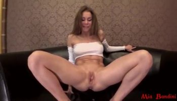 Hottie is delighting hunk with slippery oral job