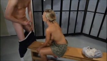 Hardcore college sex in the shower